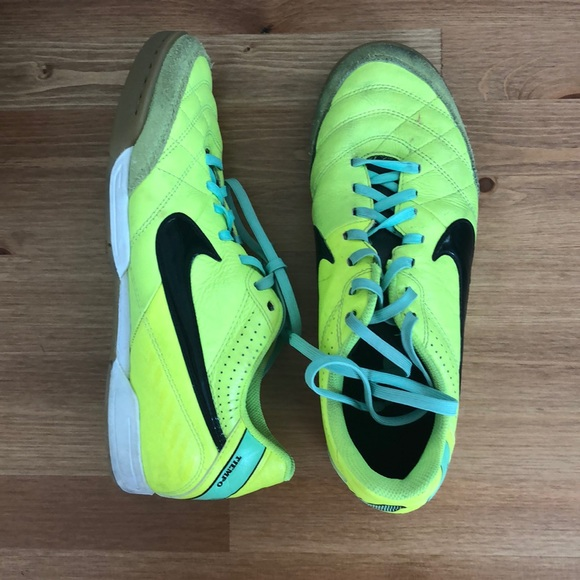 Nike Other - Nike Tiempo Indoor Soccer Shoes
